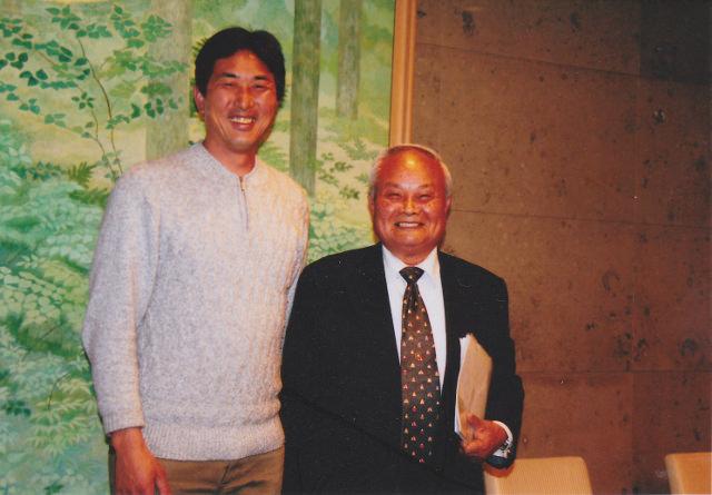 比嘉教授と吉田
